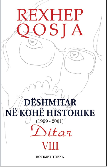 Deshmitar ne kohe historike - Ditari VIII