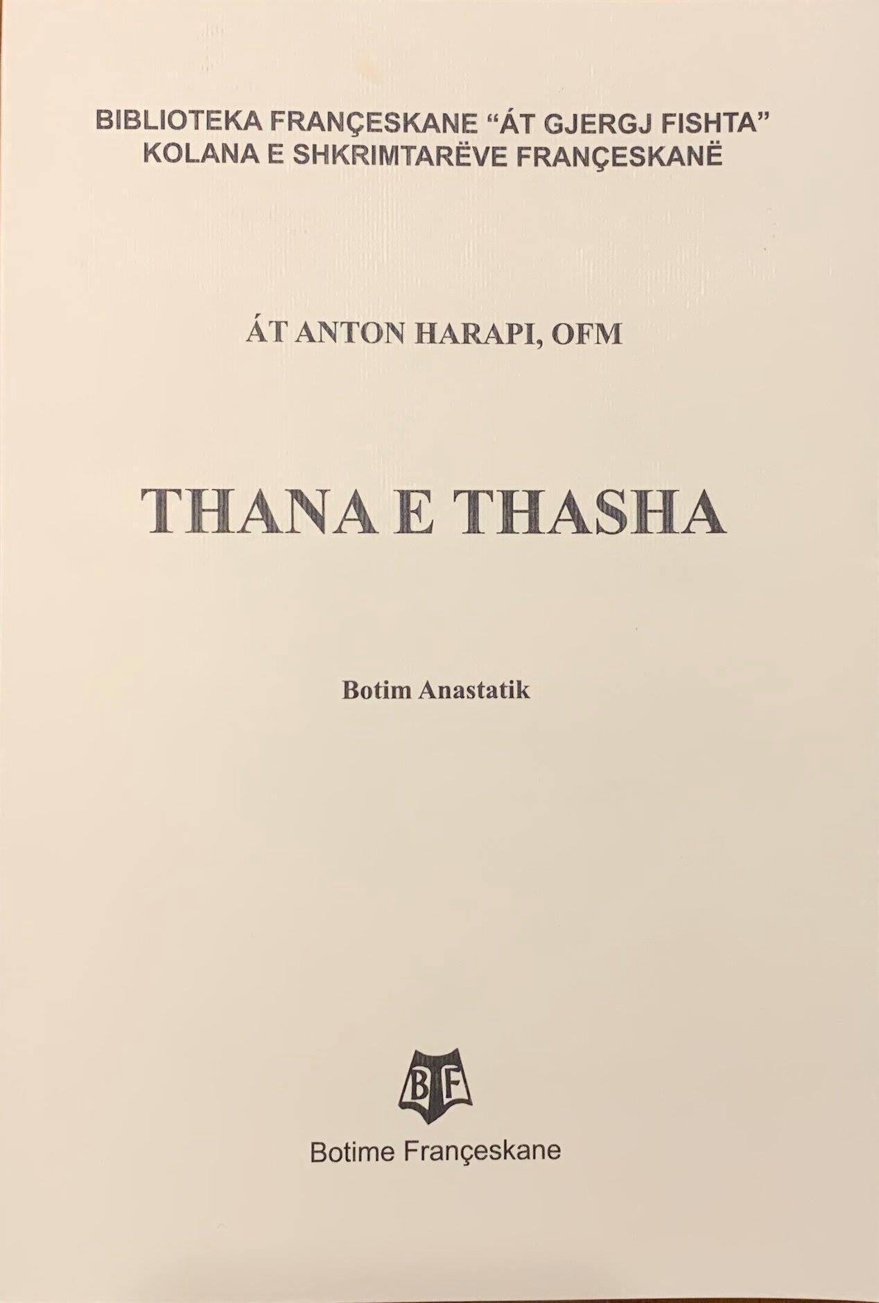 Thana e Thasha