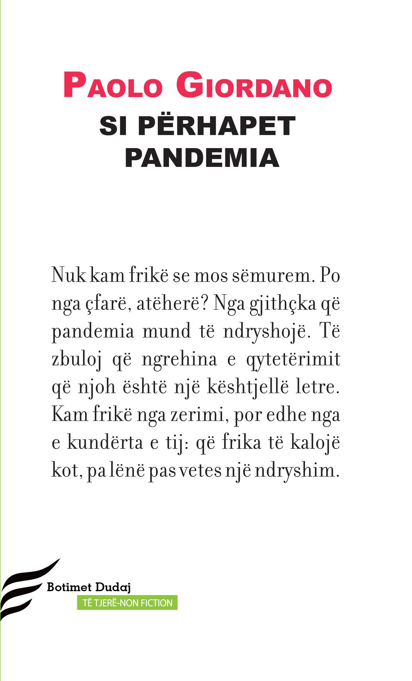 Si perhapet pandemia