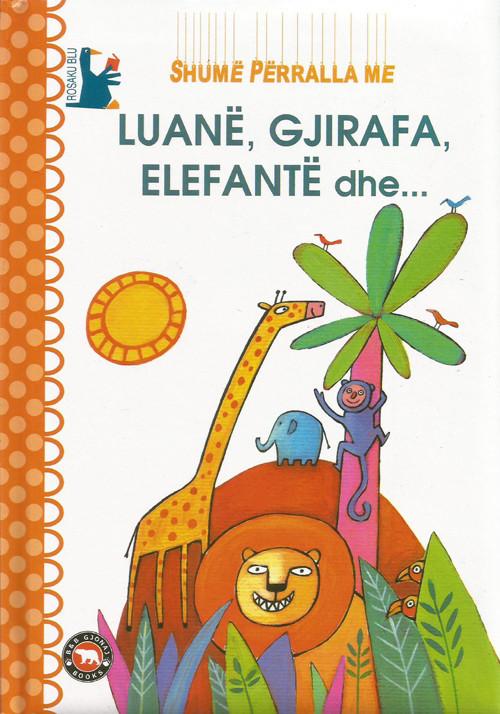 Shumë përralla me luanë, gjirafa, elefantë dhe ...