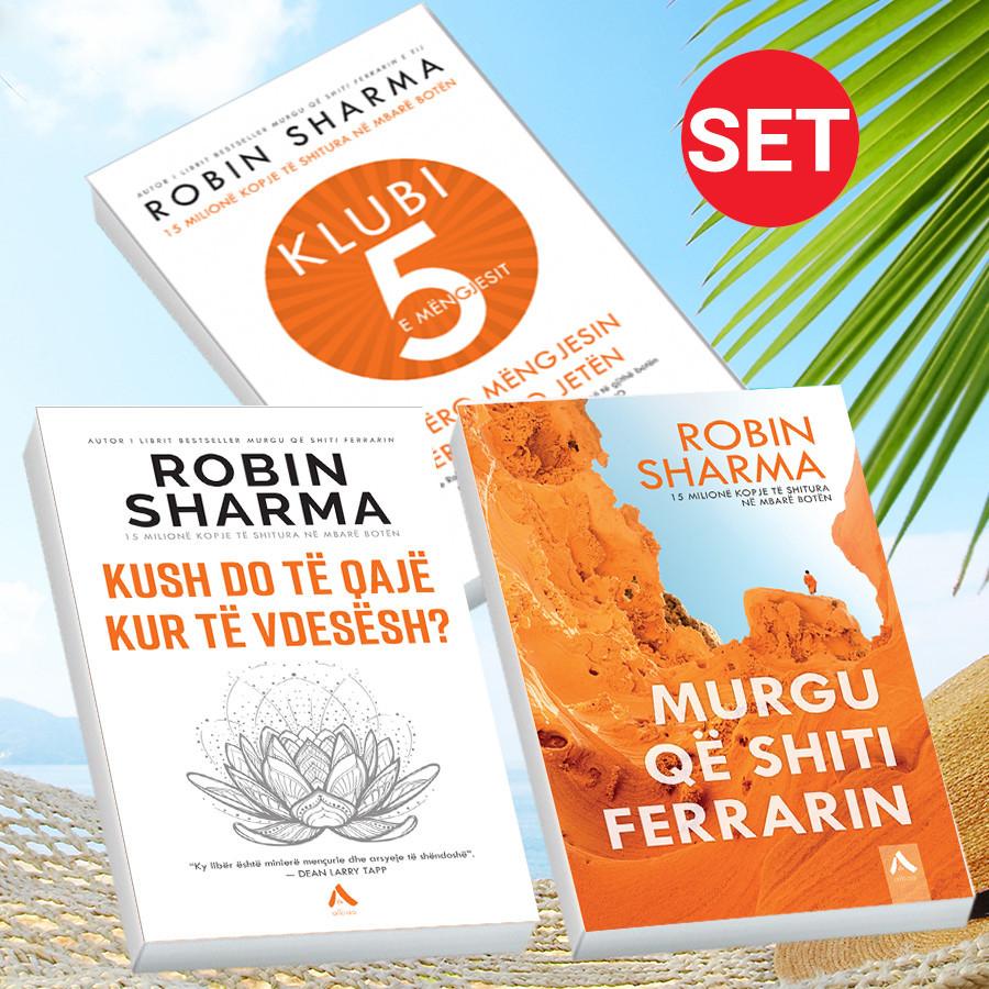 Mentori juaj Robin Sharma me 3 libra