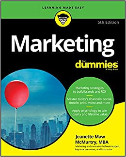 Marketing for dummies 5TH Edition