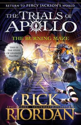 Trial of Apollo - The burning Maze