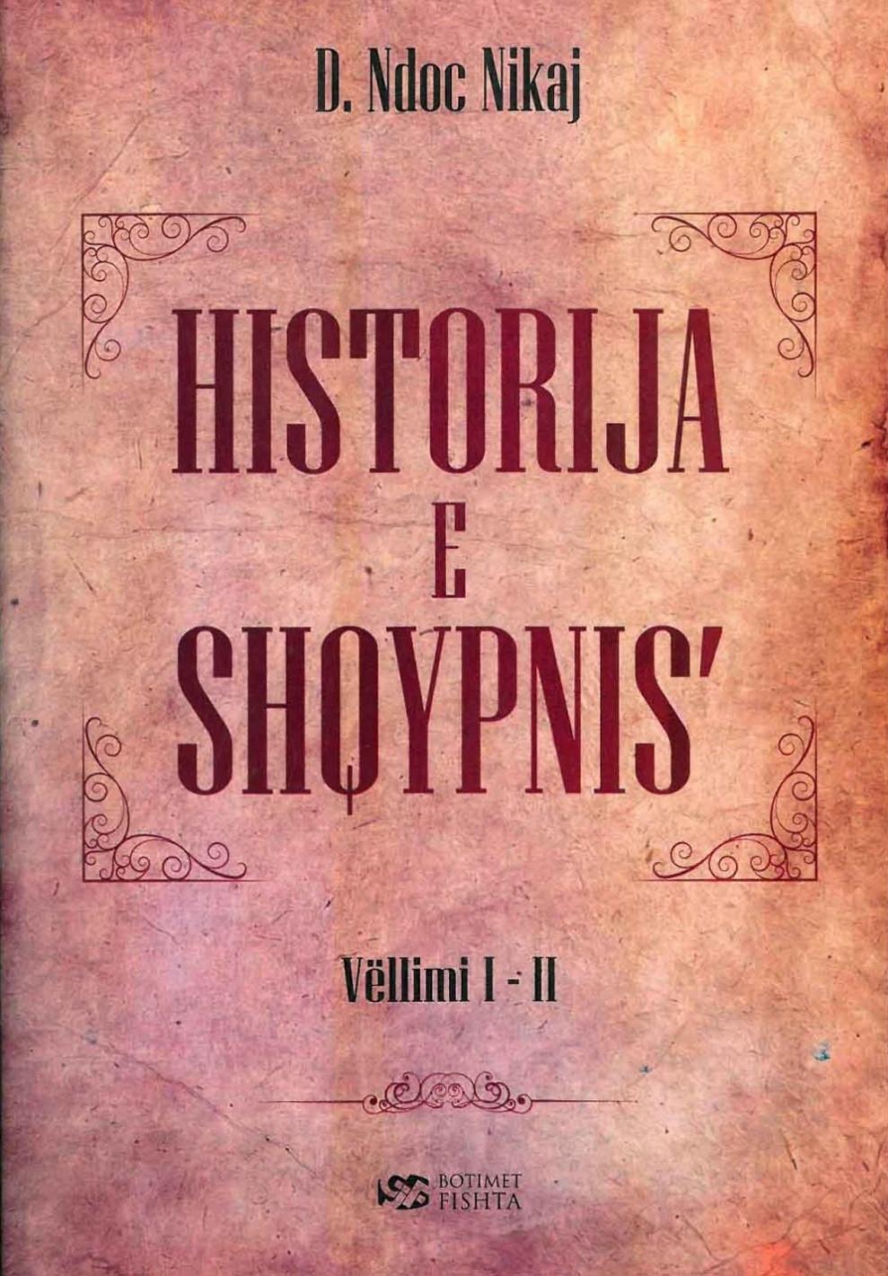 Historija e Shqypnise