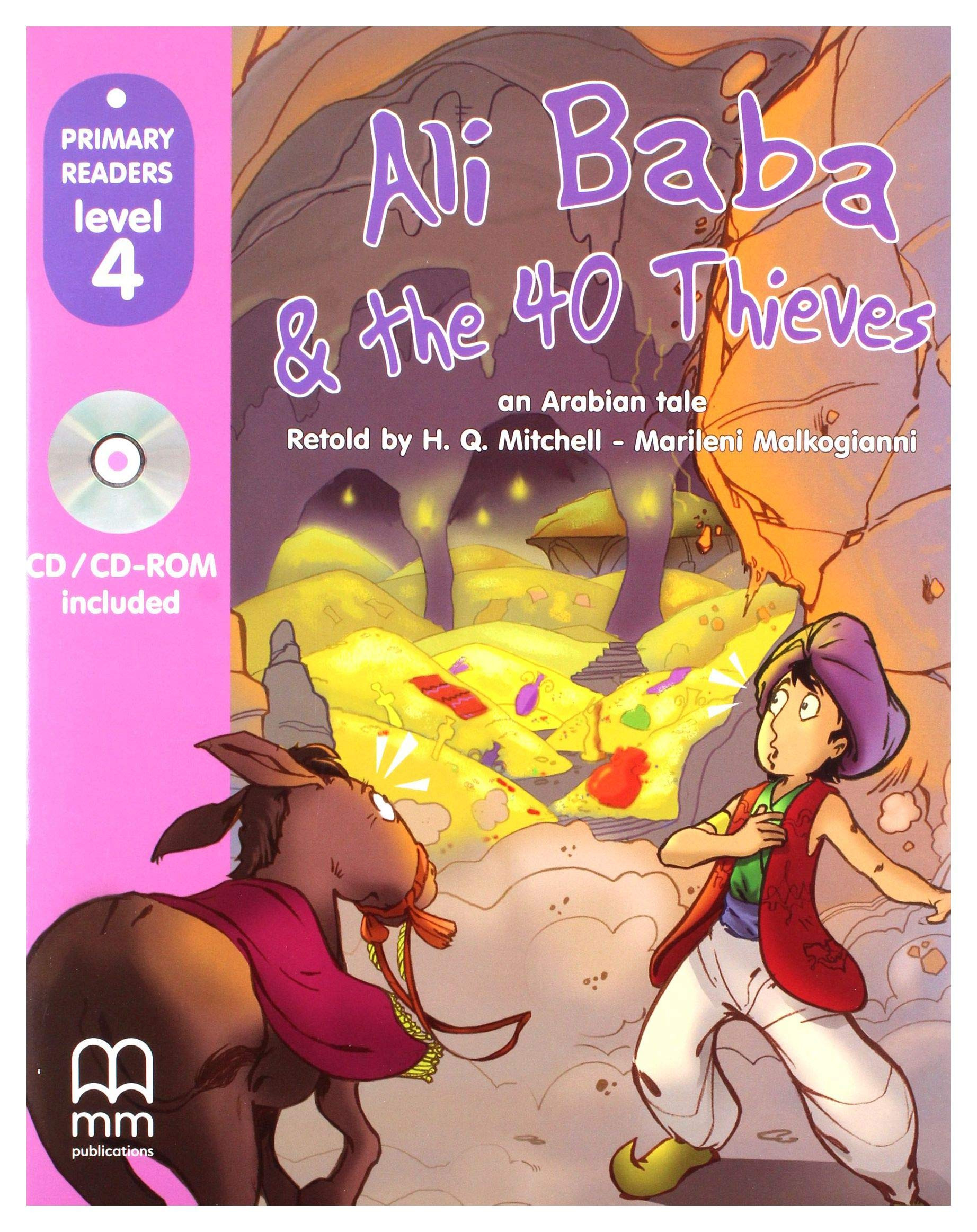 Ali Baba & the 40 thieves + CD