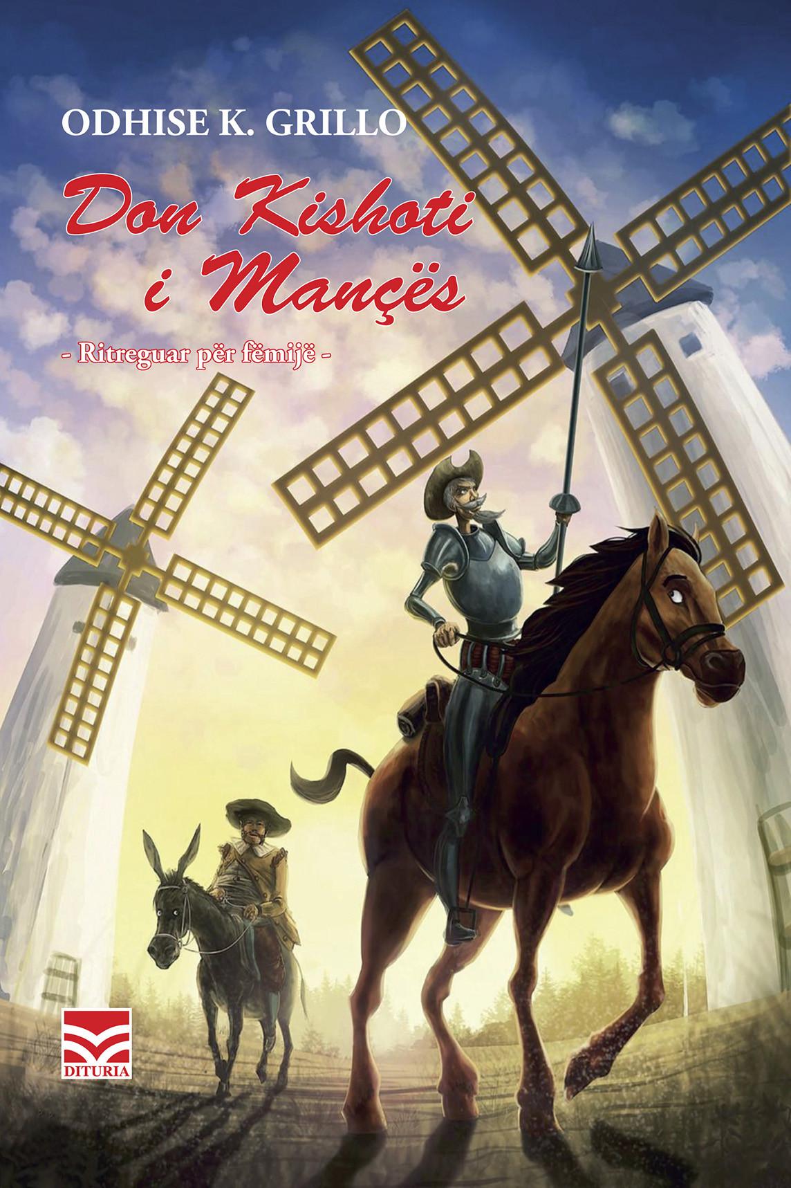 Don Kishoti i Mances, ritreguar per femije