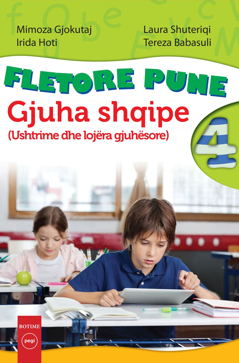 Gjuha shqipe 4 Fletore pune