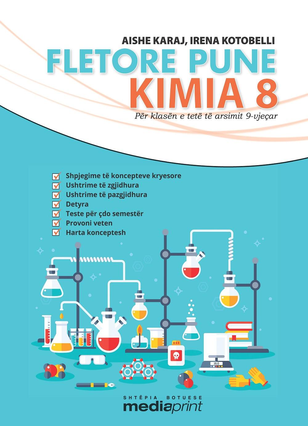 Fletore pune Kimia 8 +