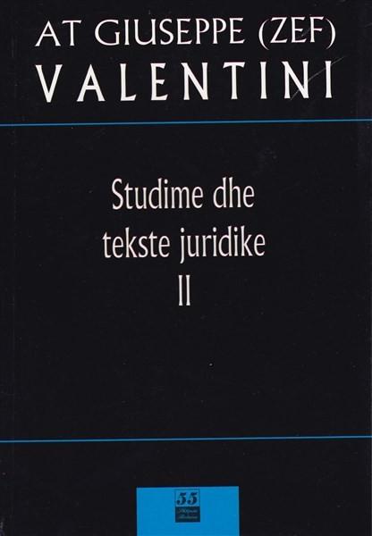 Studime dhe Tekste Juridike Vol. 2