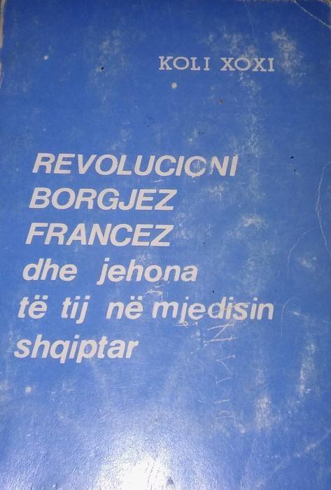 Revolucioni borgjez freances dhe jehona e tij ne Shqiperi