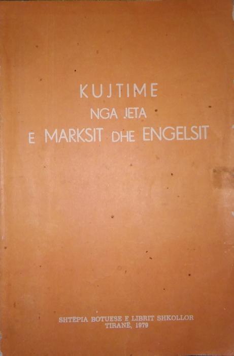 Kujtime nga jeta e Marksit dhe Engelsit