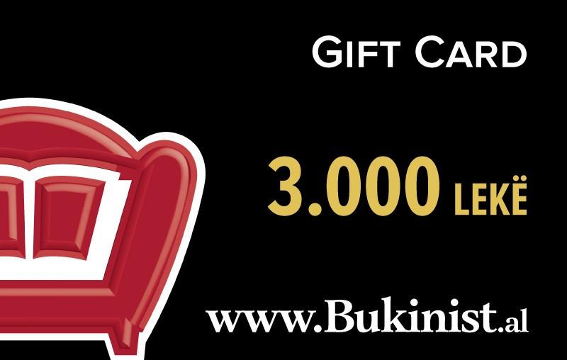 Gift CARD – 3000 lekë