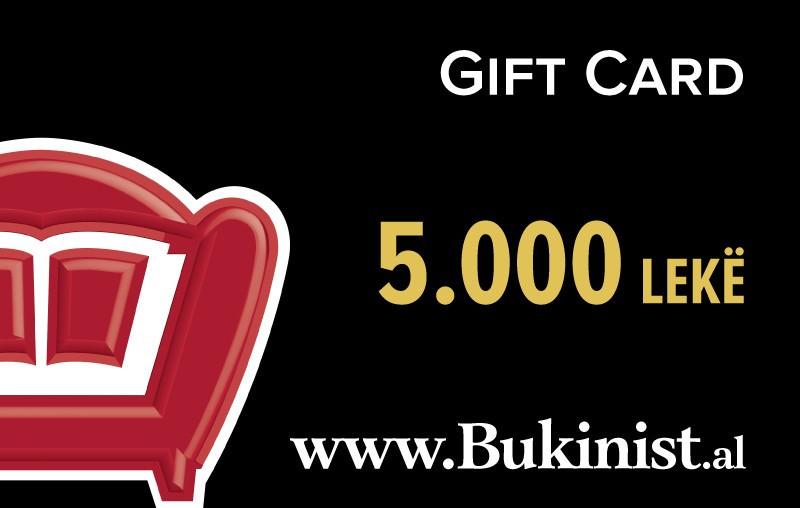 Gift CARD – 5000 lekë