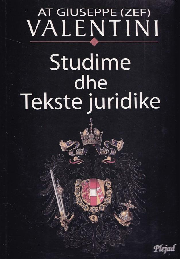 Studime dhe tekste juridike