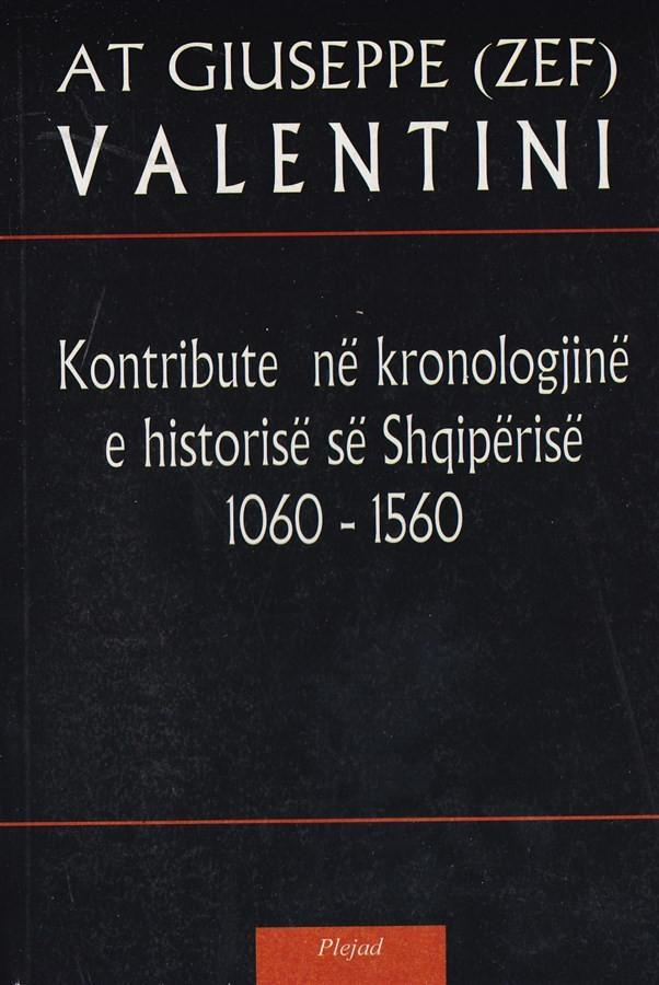 Kontribute ne kronologjine e historise se Shqiperise (1060 – 1560)