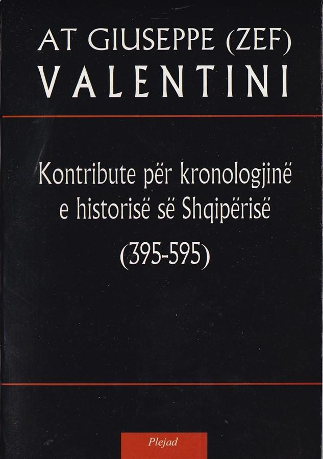 Kontribute per kronologjine e historise se Shqiperise (395 – 595)