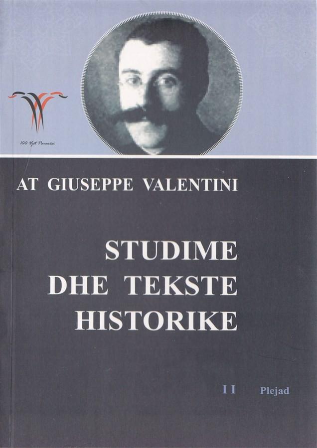 Studime dhe tekste Historike II