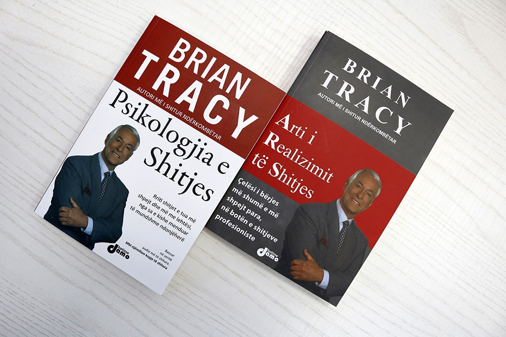 Set 2 libra - Suksesi ne shitjet te biznesi