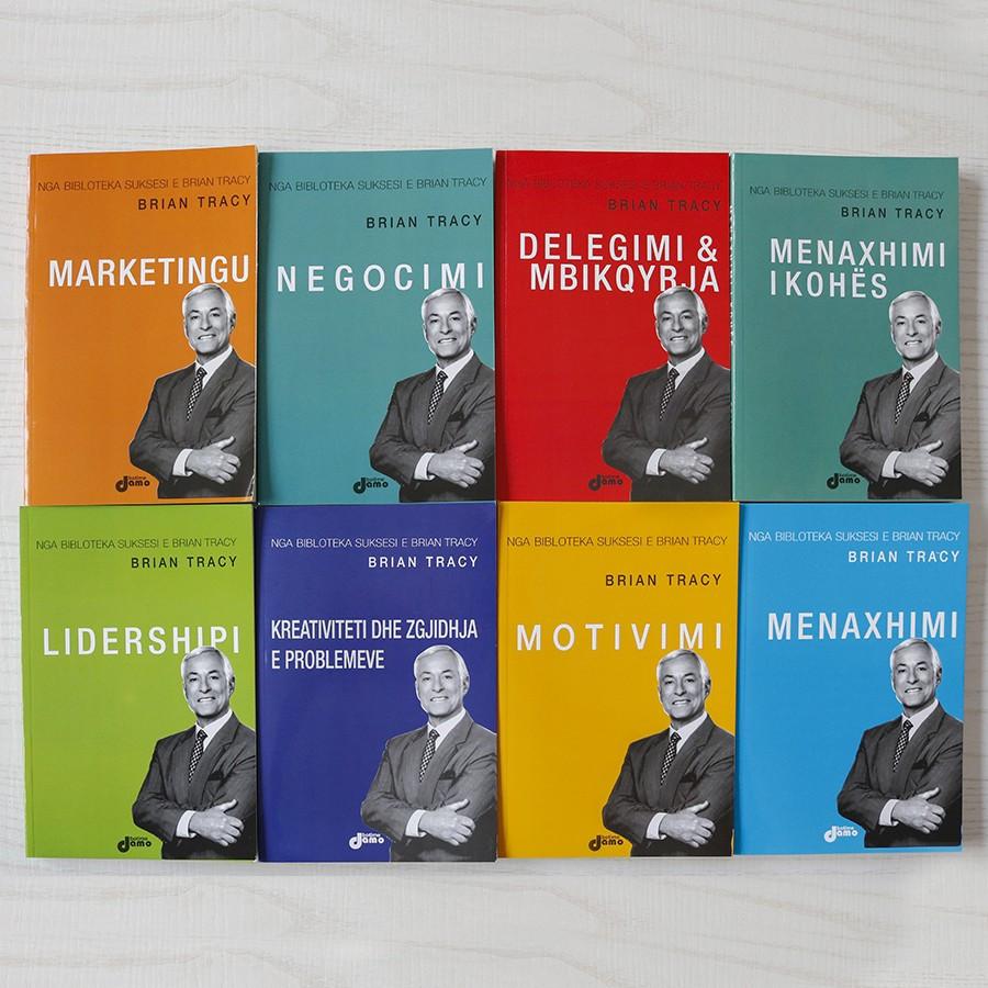 Set 8 libra - Drejtimi suksesshem i biznesit sipas Brian Tracy