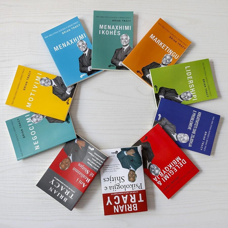 Set 10 libra, - Suksesi në biznes me Brian Tracy