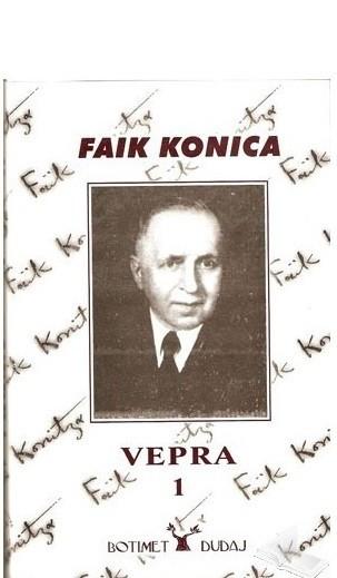 Faik Konica, - Vepra 1