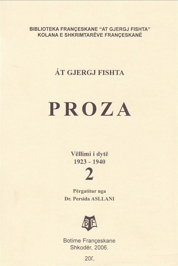Proza, vell. II, (1923-1940)