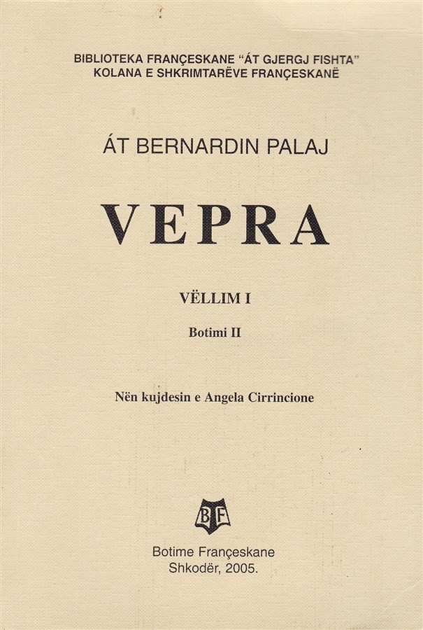 Vepra (Poezi), vell. I