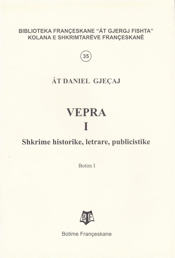 At Daniel Gjeçaj, - Vepra I