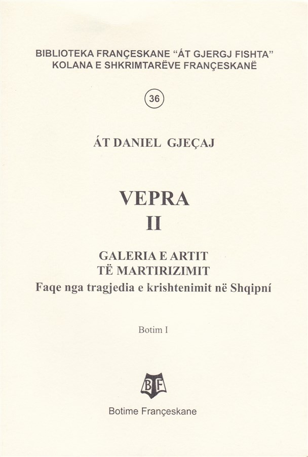 At Daniel Gjecaj, - Vepra II