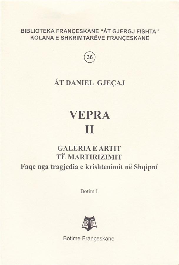 At Daniel Gjeçaj, - Vepra II
