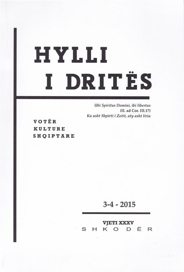 Hylli i Drites, nr. 3-4 - 2015