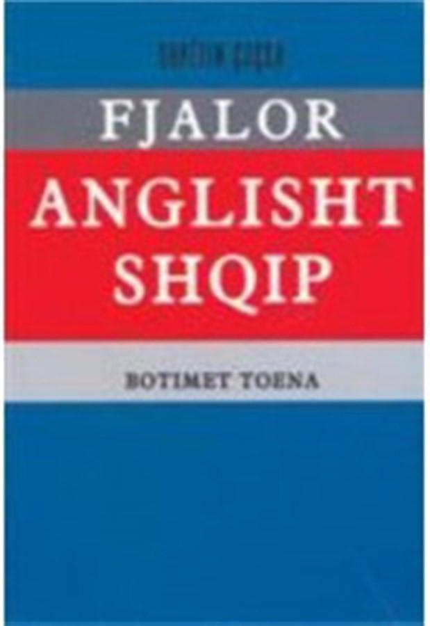 Fjalor anglisht-shqip (35.000 fjale)