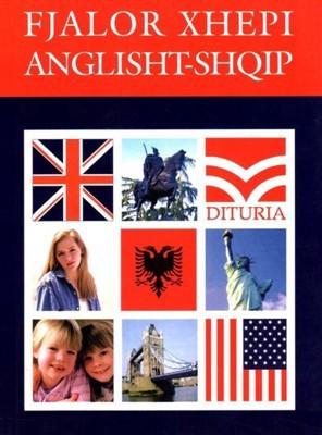 Fjalor xhepi anglisht-shqip : me rreth 7000 fjale, perfshire fraza dhe idioma