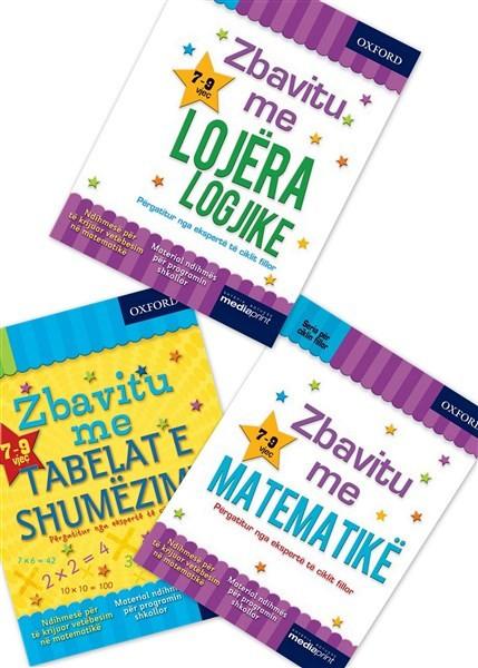 Set me 3 libra, - Meso femijen tuaj ne Matematike dhe logjike me librat e Oksfordit