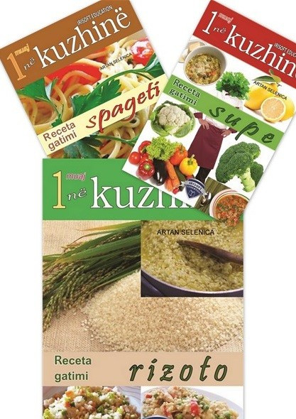 Set me 3 libra, Kuzhina mesdhetare ne nje muaj: Supa, Rizoto dhe Spageti