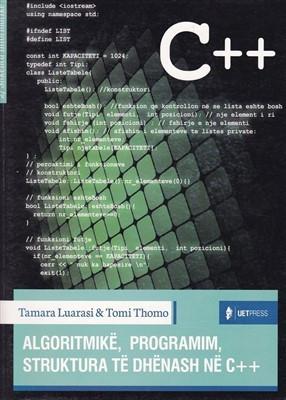 Algoritmike, Programim, Strukture te dhenash ne C++