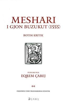 Meshari i Gjon Buzukut, Faksimile dhe transkribim fonetik ,vellimi II (hc)