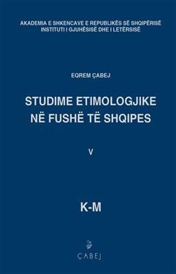 Studime etimologjike ne fushe te shqipes, bleu V