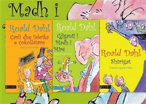 Set me 3 libra, magjite e Roald Dahl per te vegjlit