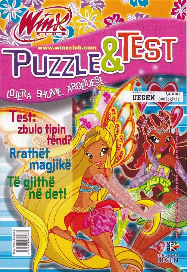 Winx- Puzzle, zbulo tipin tend