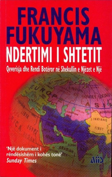 Ndertimi i shtetit, qeverisja dhe rendi boteror ne shekullin e njezet e nje