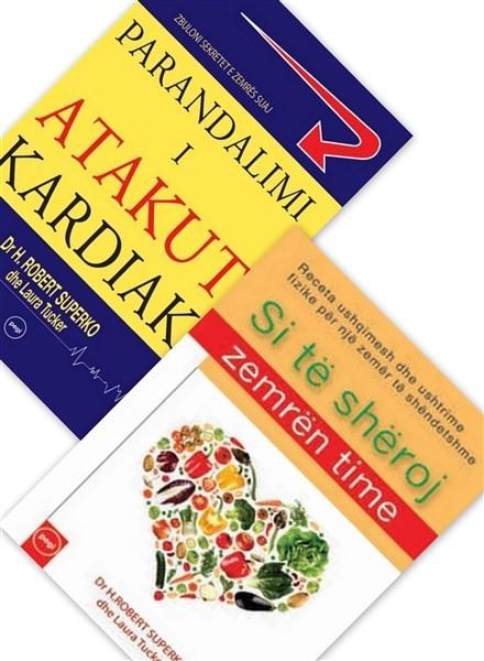 Set 2 libra, lexime për zemër të shëndetshme