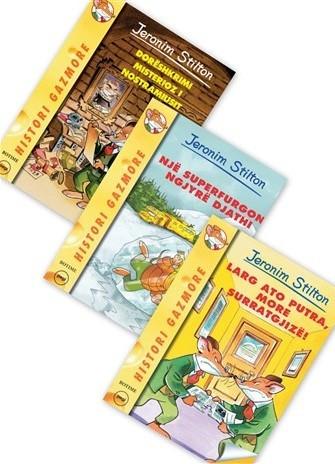 Historite gazmore dhe aventurat e Stiltonit per ty, vogelush - set 3 libra