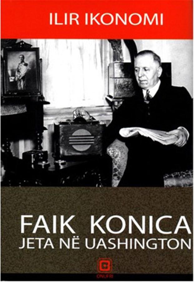 Faik Konica, jeta në Uashington