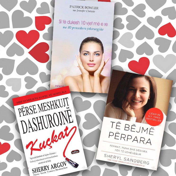 Libra për femra të suksesshme – set 3 libra