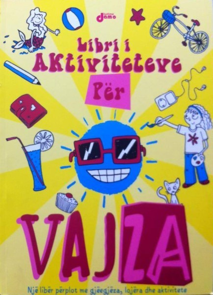 Libri i aktiviteteve per vajza