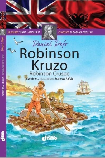 Robinson Kruzo Shqip - Anglisht
