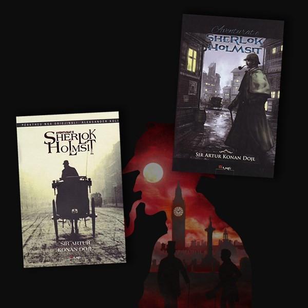 Te gjitha Aventurat e Sherlok Holms-it – set 2 libra