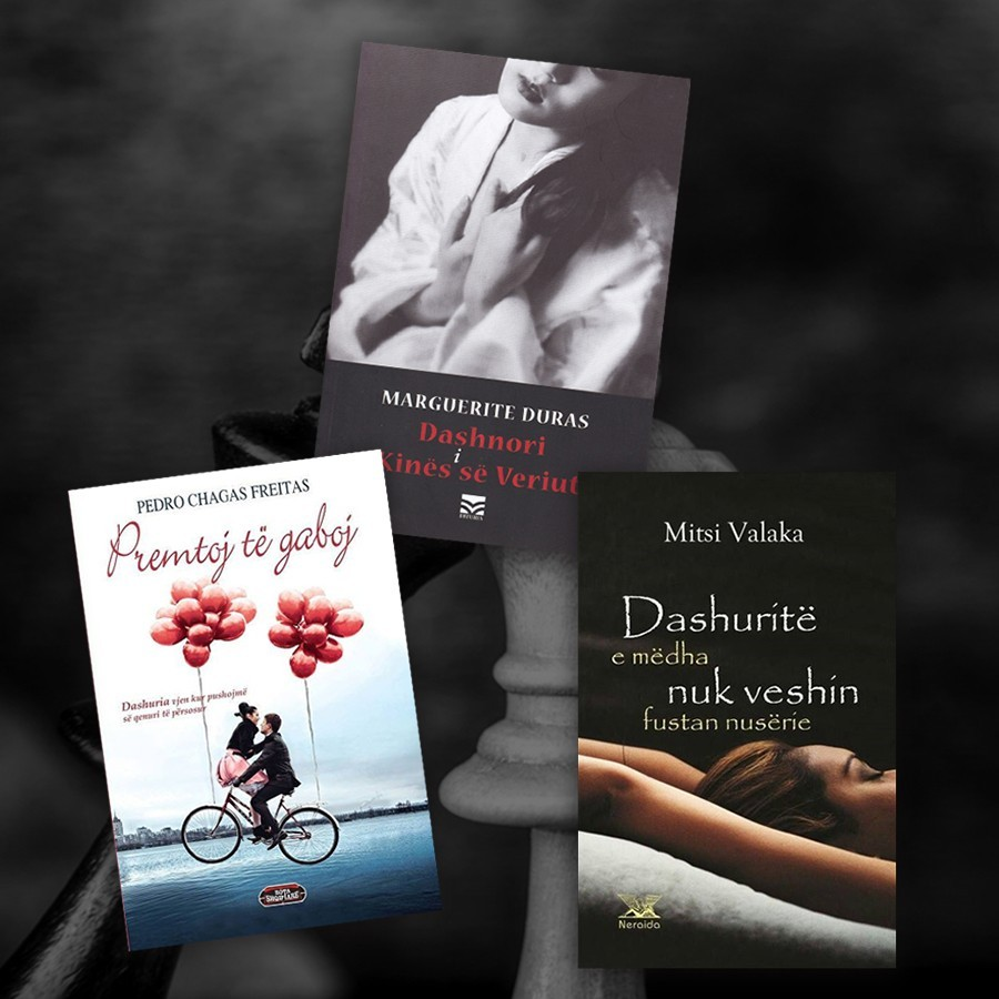 Dashuritë e përjetshme në tre romane - set me 3 libra