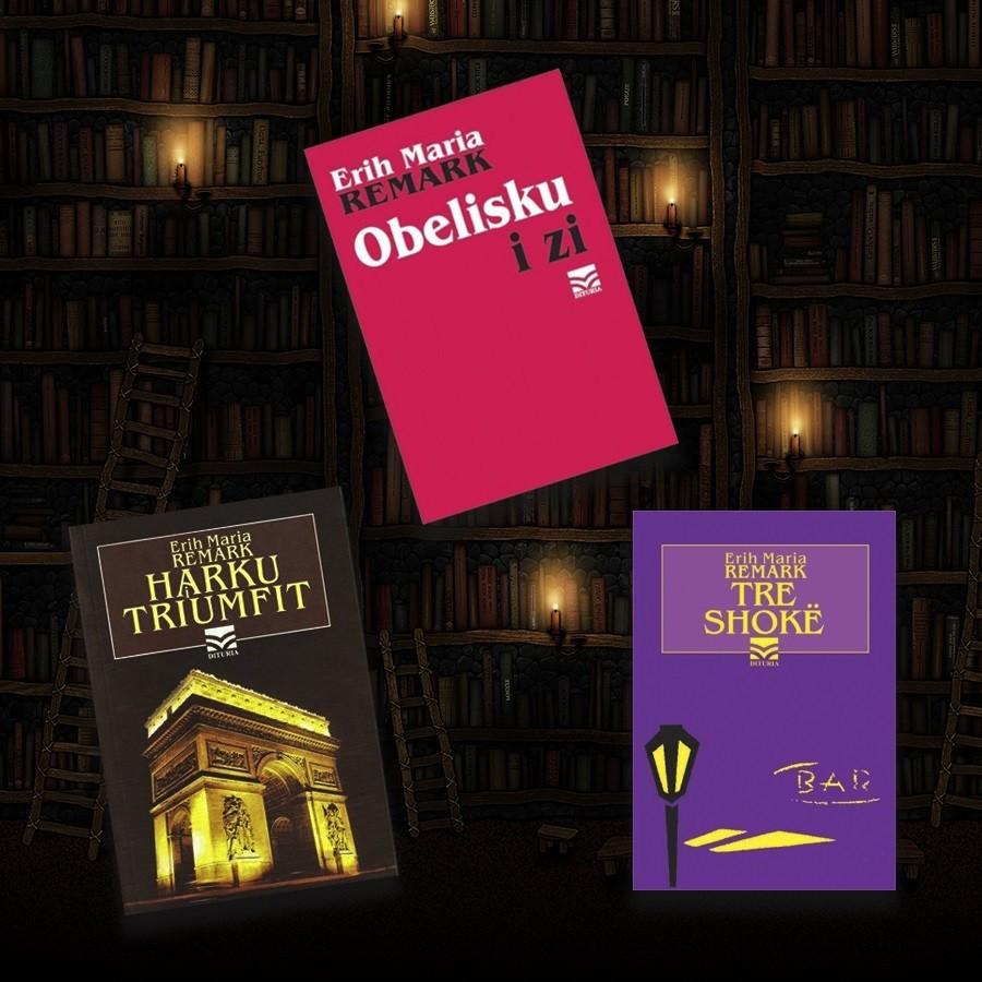 Tri thesaret e perjetshme te Remarkut – set 3 libra
